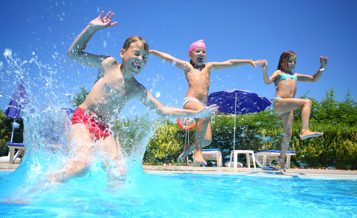 Familienhotels mit Freibad oder Outdoor Pool