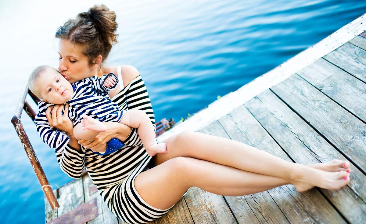 Urlaub mit Baby