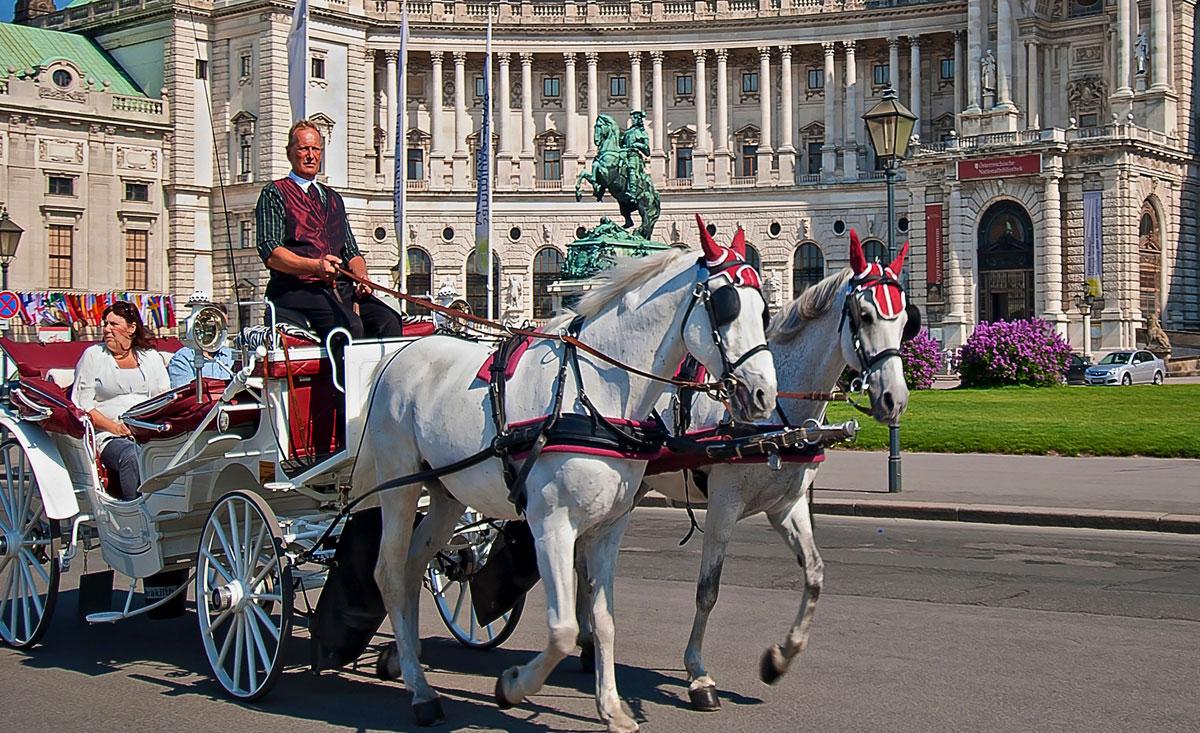 Pferdekutschen in Wien